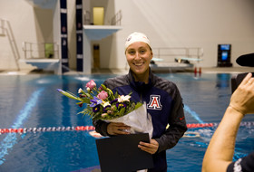 Arizona's Margo Geer named Pac-12 Swimming & Diving Scholar-Athlete of the Year