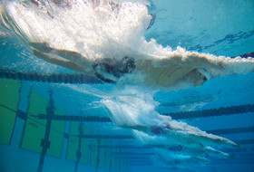 Historical performances headline day two of men's swimming championships