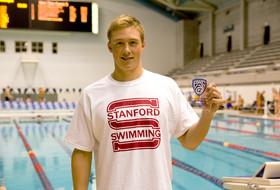 Stanford's David Nolan breaks two records in 200 IM