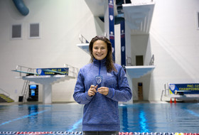 2017 Pac-12 Swimming (W) & Diving (M/W) Championships: UCLA's Maria Polyakova is new 3M dive champ