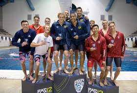 2017 Pac-12 Swimming (M) Championships: Cal's week looking promising after day one sweep