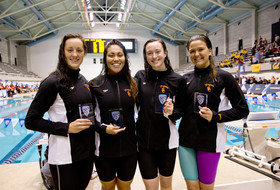 USC women win first 800 freestyle relay title since 2010