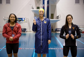 Cal's Farida Osman breaks records on Day 2 of 2016 Pac-12 women's swimming championship
