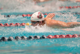 Stanford swimming Gray Umbach