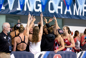 2017 Pac-12 Swimming (W) & Diving (M/W) Championships: Katie Ledecky's American Record highlights day two of Pac-12 women's swimming and men's and women's diving championships