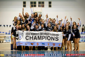 California crowned 2014 Pac-12 women's swimming and diving champions