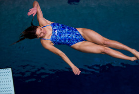 UCLA's Maria Polyakova wins the Pac-12 1-meter diving championship