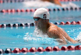 Stanford is in first after day two of Pac-12 Men's Swimming Championships