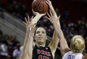 2014 Pac-12 Women's Basketball Tournament first round: Plouffe powers Utah to upset UW
