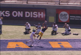 Cal corners the market on exceptional football catches in the Pac-12