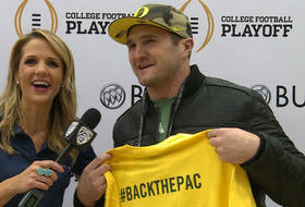Casey Matthews discusses Ducks' title run and brother's NFL playoff win