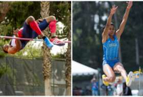 Arizona's Nick Ross and UCLA's Kylie Price