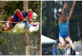 Arizona's Nick Ross and UCLA's Kylie Price
