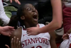 Ogwumike scores on circus shot
