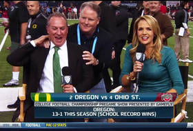 Video: Chip Kelly surprises Nick Aliotti during Pac-12 Networks Pregame Show