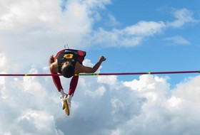 Highlight: USC's Randall Cunningham wins the NCAA Men's Championship in the high jump