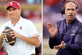 2017 Rose Bowl: USC's Clay Helton and PSU's James Franklin bring stability and success