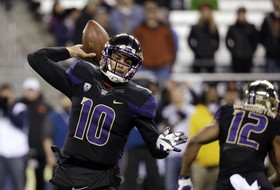 """<p><a href=""""http://pac-12.com/washington-football-jaydon-mickens-highlights-vs-oregon-state"""">Two touchdown from Jaydon Mickens</a> helped power the Huskies, who became bowl-eligible with the win, <a href=""""http://pac-12.com/football/event/2014/11/22/oregon-state-washington"""">past Oregon State Saturday night.</a> Oregon State kept it close for a while, <a href=""""http://pac-12.com/article/2014/11/22/oregon-state-football-rahmel-dockery-makes-diving-catch-against-washington"""">getting big plays when they needed it</a>, but Washington's defense was too much for Beavers, <a href=""""http://pac-12.com/football/event/2014/11/29/oregon-oregon-state"""">who must beat Oregon next week to become bowl eligible</a>. The <a href=""""http://pac-12.com/football/event/2014/11/29/washington-washington-state"""">Huskies travel to WSU for the Apple Cup.</a></p>"""