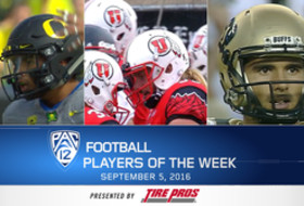 Oregon's Troy Dye, Utah's Mitch Wishnowsky, and Colorado's Sefo Liufau named football Players of the Week