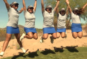 2017 Pac-12 Women's Golf Championships: UCLA jumps for joy to its title sweep