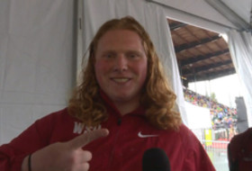 2017 Pac-12 Track & Field Championships: Washington State's Brock Eager talks 'pride' about winning hammer throw, worldwide Cougar support