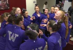 2017 Pac-12 Women's Gymnastics Championships: Get a behind-the-scenes look before the 2nd session march-in