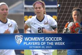 Witteman, Gibson, Burdett collect Pac-12 women's soccer weekly honors