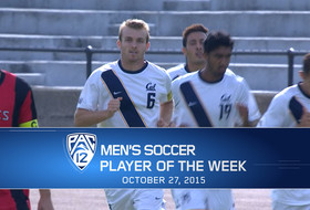 Cal's Christian Thierjung named Pac-12 Men's Soccer Player of the Week for Oct. 27