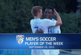UCLA's Seyi Adekoya named men's soccer player of the week for Sept. 29