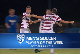 Stanford's Jordan Morris takes home Pac-12 Men's Soccer Player of the Week for Oct. 20