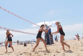 USC's Sara Hughes, Kelly Claes talk winning USAV Beach Collegiate Challenge title