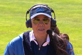 UCLA softball coach Kelly Inouye-Perez tasks players to play with 'inspiration, purpose' on Jackie Robinson Day