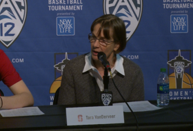 2017 Pac-12 Women's Basketball Tournament: Stanford's Tara VanDerveer makes the case for Cal to make NCAA tournament