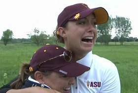 NCAA Women's Golf Championships: Arizona State beats Northwestern, claims eighth national title