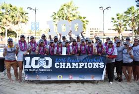 2016 Pac-12 Beach Volleyball Team Champions USC