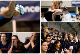 Social Media Roundup: Day 1 at Pac-12 Women's Swimming, Men's and Women's Diving Championships