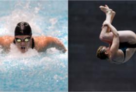 Stanford's Eastin, Leydon-Mahoney named swimmer & diver of the month