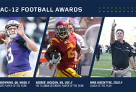 Pac-12 Football Awards And All-Conference Team Announced
