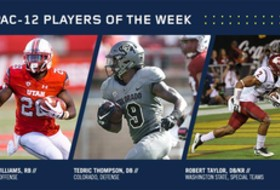 Williams, Thompson, Taylor earn weekly Conference honors