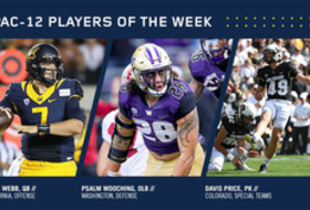 Webb, Wooching, Price earn weekly Conference honors