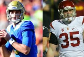 2015 Pac-12 Freshmen of the Year: UCLA's Josh Rosen and USC's Cameron Smith