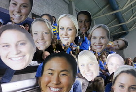 UCLA parents get creative at Pac-12 Women's Swimming Championships