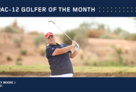 Arizona's Moore named Pac-12 Golfer of the Month