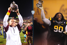 Video: Arizona State's Will Sutton, Todd Graham honored by Pac-12