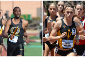 Track & Field Championships running and field events begin
