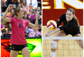 Woods, Hagglund named volleyball Academic All-District
