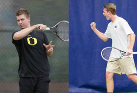 Oregon, Washington advance to round two of Pac-12 men's tennis championships