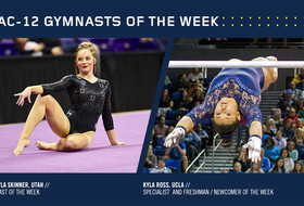 Ross's perfect 10 and Skinner's 39.575 all-around earn Pac-12 honors