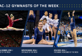 Utah, UCLA claim #Pac12Gym weekly awards after showdown in Salt Lake