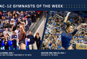 MyKayla Skinner and Christine Peng-Peng Lee earn Pac-12 gymnastics weekly honors